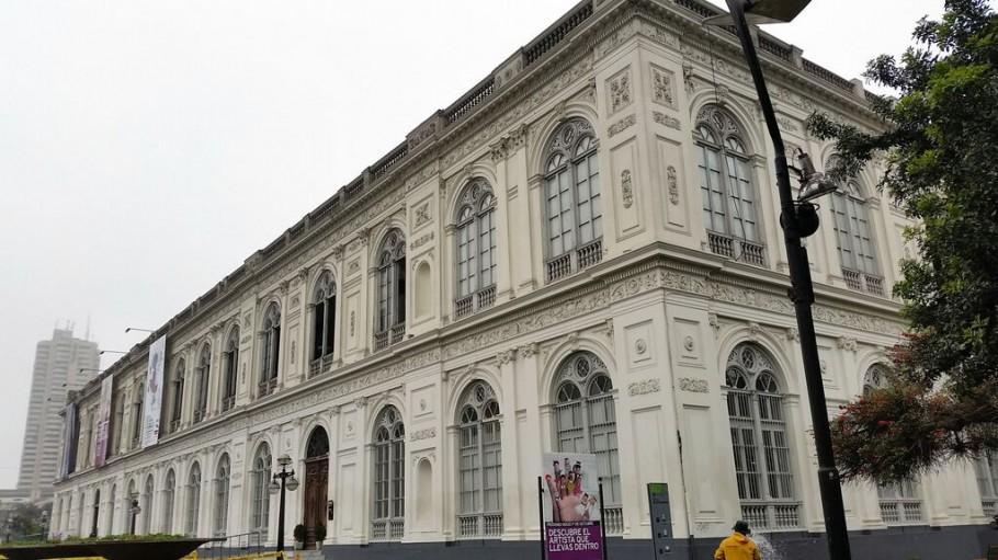 Fachada del Museo de Arte de Lima, tras la remodelación de Civis Global.