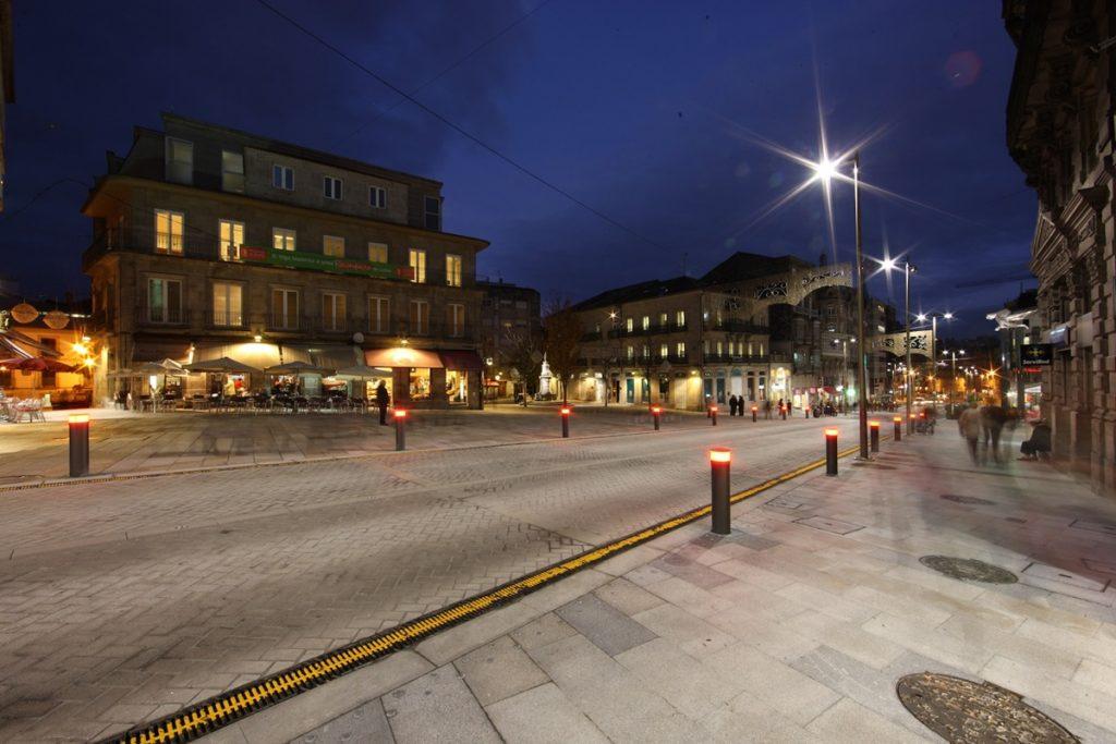 Civis global mejora el entorno urbano en vigo civis global Obras puerta del sol