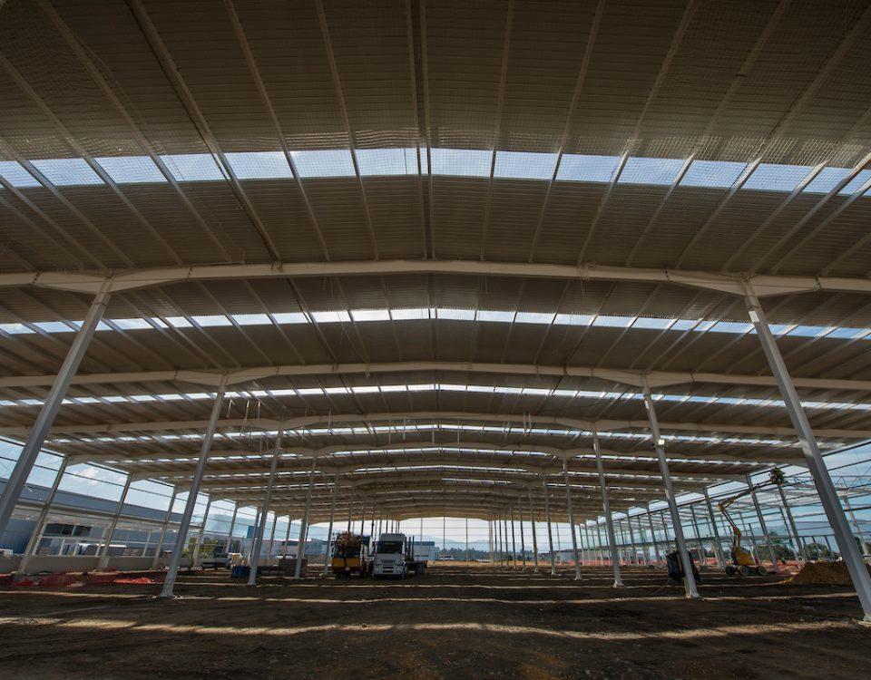 VALENÇA, 11/01/17. CONSTRUCCION NUEVA NAVE EMPRESA AUTOMOCION ANTOLIN EN VALENÇA DO MINHO (PORTUGAL)