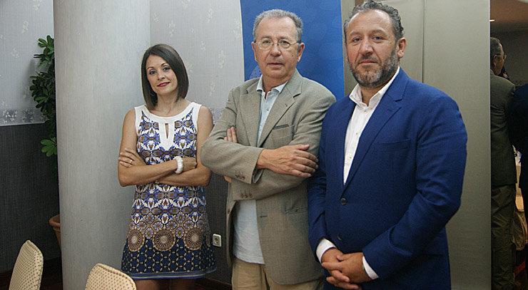 VIctor del Canto, en la presentación de la propuesta de estrategia industrial de Galicia