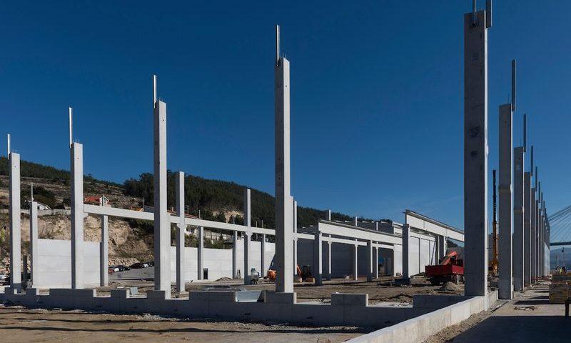 DOMAIO, 24/10/17. CONSTRUCCION NAVE FANDICOSTA