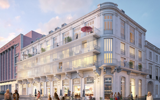 La obra incluirá la rehabilitación integral del edificio y la construcción de diez apartamentos de lujo y un restaurante.