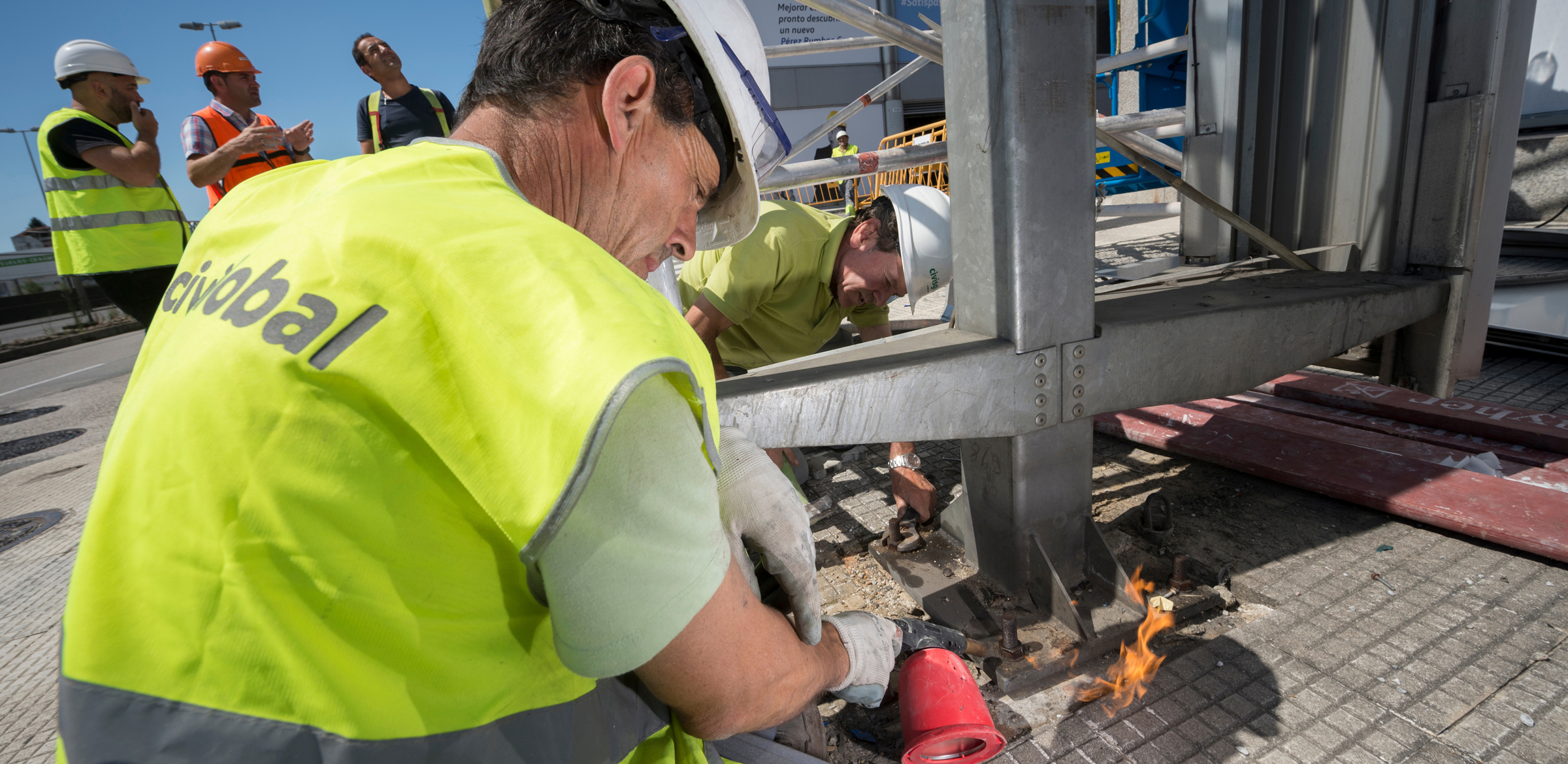 El crecimiento del empleo directo en Civis Global se ha duplicado en los últimos cinco años, gracias al aumento de la cartera de obras y servicios de la constructora con sede social en Vigo.