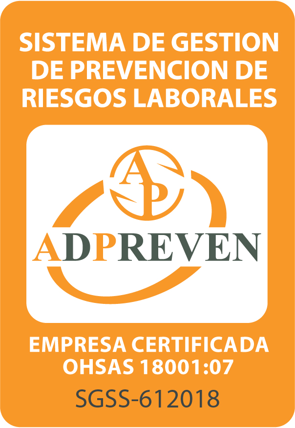 sello adpreven ohsas 18001